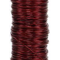 Koristeellinen emaloitu lanka Ø0,30mm 30g/50m Bordeaux