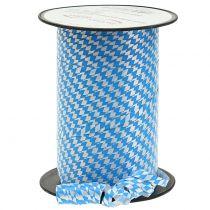 Koristeellinen nauha polyteippi sinivalkoinen 5mm 250m