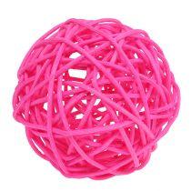 Koristeelliset pallot vaaleanpunaiset Ø7cm 18kpl