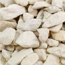 Koristeelliset kivet 9mm - 13mm 2kg Cream (kerma)
