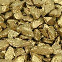 Koristeelliset kivet 9mm - 13mm 2kg keltakultaa