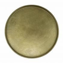 Koristelautasavi Ø20cm kultaa