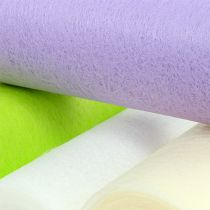 Koristeellinen fleecepöydän juoksija 23cm värillinen 25m