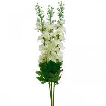 Delphinium valkoiset keinotekoiset delphinium silkki kukat tekokukat 3kpl