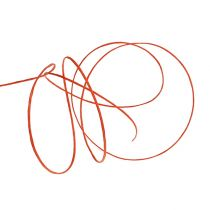Lanka kiedottu 50 m oranssin ympärille