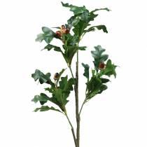 Tammenlehtihaara tammenterhoilla keinotekoisesti 90cm