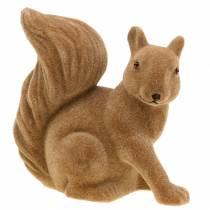 Koriste-orava parveni ruskea H20cm 2kpl