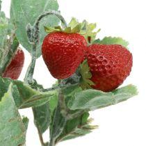 Keinotekoinen mansikanvalinta punainen L30cm