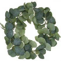 Oviseppele Eukalyptus Keinotekoinen Eukalyptus seppele Ø38cm