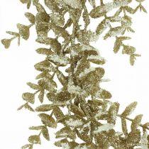 Deco seppele Keinotekoinen Eukalyptus kultainen, luminen Ø36cm