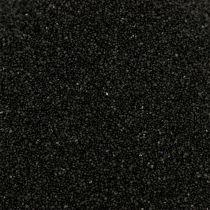 Värillinen hiekka 0,5mm musta 2kg