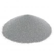 Värillinen hiekka 0,5mm hopea 2kg