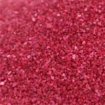 Värillinen hiekka 0,5mm Fuksia 2kg