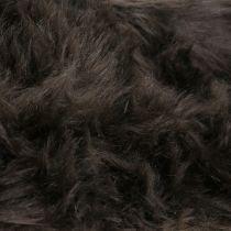 Koristeellinen turkisnauha tummanruskea 16x200cm