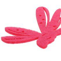 Huopa ripottele koristelu vaaleanpunainen 24kpl
