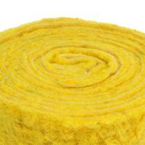 "Huopanauha ""Happy"" keltainen 7,5 cm 5m"