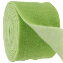 Huopanauha 15cm x 5m kaksivärinen vihreä, valkoinen