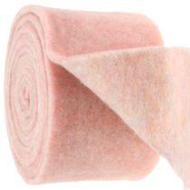 Huopateippi, potin teippi kaksisävyinen valkoinen / vaaleanpunainen 15cm 5m