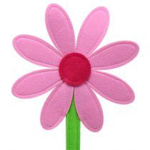 Huopakukka vaaleanpunainen 87cm