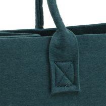 Huopalaukku siniharmaa 40cm x 20cm x 25cm