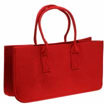 Huopapussi punainen 50 × 25 × 25cm