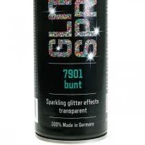 Glitter Spray askarteluun Värikäs spraymaali Flitter 400ml