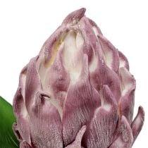 Vaahto-artisokka vaalean violetti 14cm L28cm 1p
