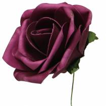 Foam-Rose Ø10cm eri värejä 8kpl