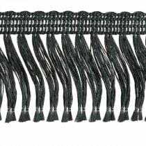 Fringe nauha, Cordonet punos, Leonese Fringe Musta W4cm L25m
