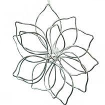 Kevät koriste, lanka kukka, metallikukka, häät koriste, koriste riipus kesä 6kpl