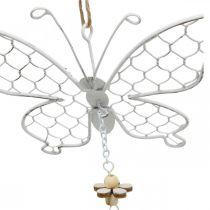 Kevät koriste, metalli perhosia, pääsiäinen, koriste riipus perhonen 2kpl