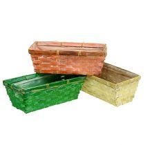 Jousikori 25x13x9cm oranssi, keltainen, vihreä 6kpl