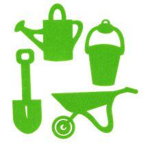 Puutarhatyökalut tuntui vihreältä 24kpl