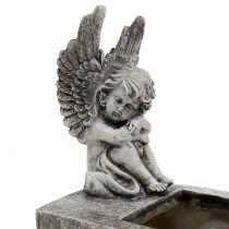 Istutuskone enkeliharmaalla 17cm