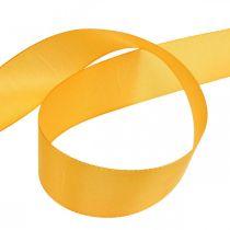 Lahjanauha koristelu nauha oranssi silkkinauha 40mm 50m