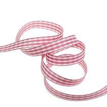 Lahjanauhatimantit vaaleanpunainen 15mm 20m