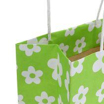 Lahjapussit vihreä 20cm x 11cm x 25cm 8kpl