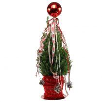 Joulupallo Muovi Pieni Ø14cm Punainen 1kpl