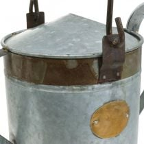 Deco Kastelukannu Metalli Planter Retro Look Potting Shed 58×23×32cm