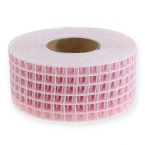 Ristikkonauha 4,5cm x 10m Vaaleanpunainen