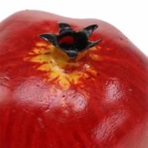 Koristeellinen granaattiomenapunainen 9,5 cm 4kpl