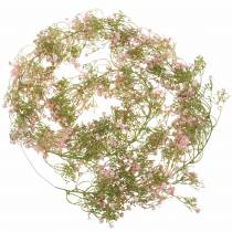 Garland gypsophila vaaleanpunainen 180cm