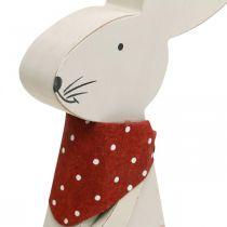 Pupu tyttö, kevät koriste, puinen pupu ämpärillä, pääsiäispupu, pääsiäispupu