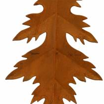 Syksyn lehdet ruosteinen roikkuu 13cm 4kpl 4kpl