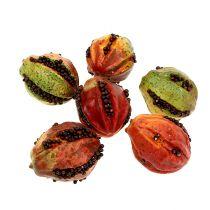 Syksyn hedelmät 3,5 cm punaiset, ruskeat 24kpl