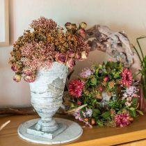 Syksyn seppele krysanteemi violetti Ø30cm