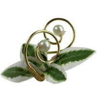 Helmineulat helmillä, kulta 8cm 24kpl
