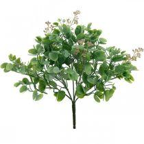 Häät koristelu Eukalyptus oksat kukkia koristelu kimppu vihreä, vaaleanpunainen 26cm
