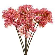 Pihlajanoksa vaaleanpunainen 54,5cm 4kpl