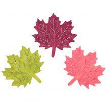 Vaahteralehtipuu valikoitujen värien sirottamiseen 4cm 72kpl
